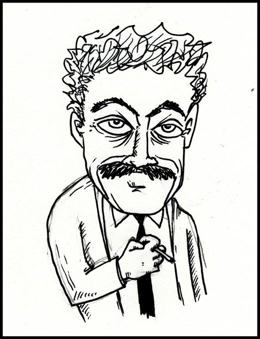 Kurt Vonnegut, Jr. by Mr. Hehn