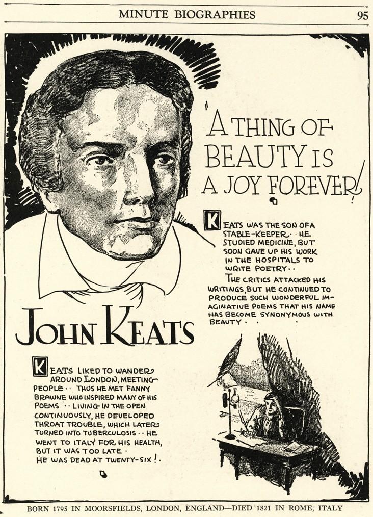 comparison between william wordsworth and john keats poetry While irony occurs in the difference between what is poetry william wordsworth student travel jane austen john keats media music nassr 2010 nassr.