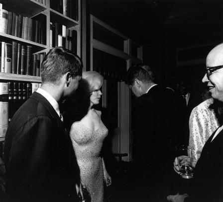 JFK and Marilyn Monroe