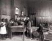 African-American children study thanksgiving